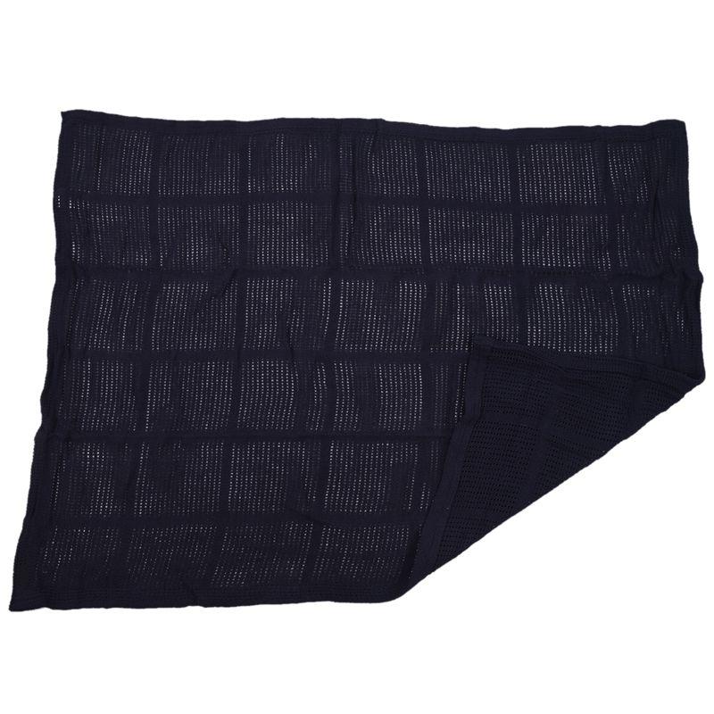 thumbnail 30 - 100% Cotton Baby Infant Cellular Soft Blanket Pram Cot Bed Mosses Basket Cr L3R8