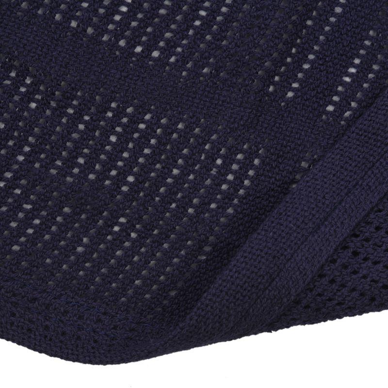 thumbnail 31 - 100% Cotton Baby Infant Cellular Soft Blanket Pram Cot Bed Mosses Basket Cr L3R8