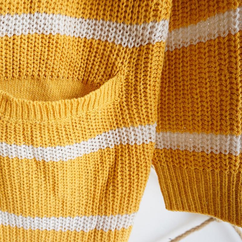 Nouveau-Pull-D-039-automne-D-039-hiver-Pour-Femme-Cardigan-A-Manches-Longues-Tricot-T2Q2 miniature 10