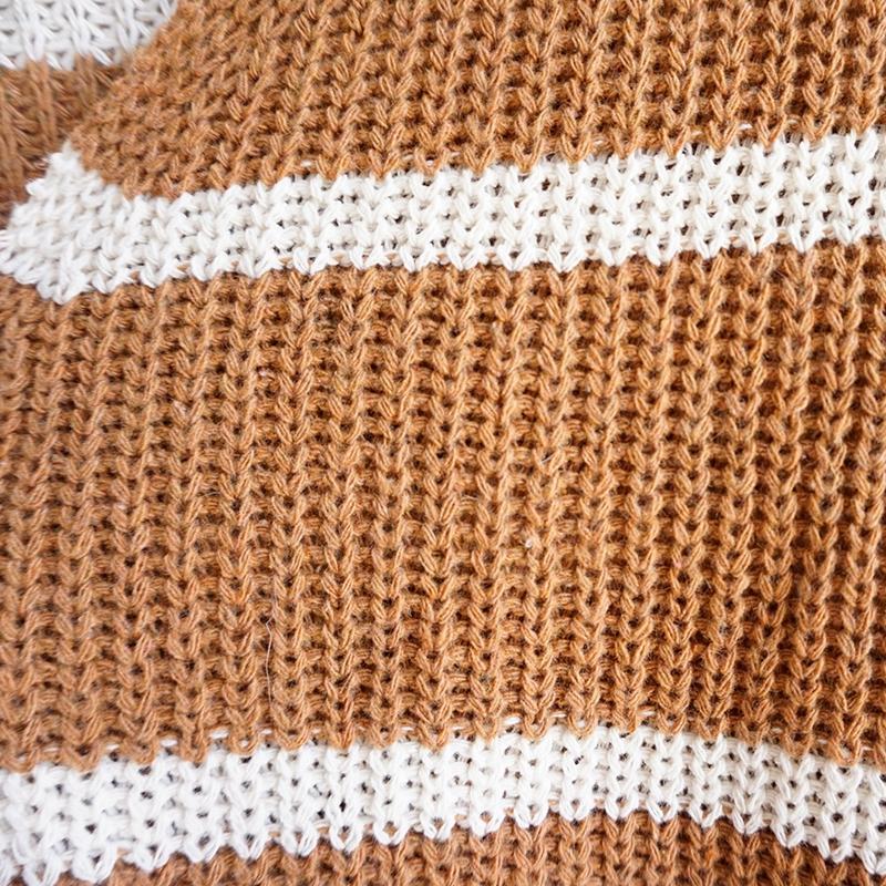 Nouveau-Pull-D-039-automne-D-039-hiver-Pour-Femme-Cardigan-A-Manches-Longues-Tricot-T2Q2 miniature 24