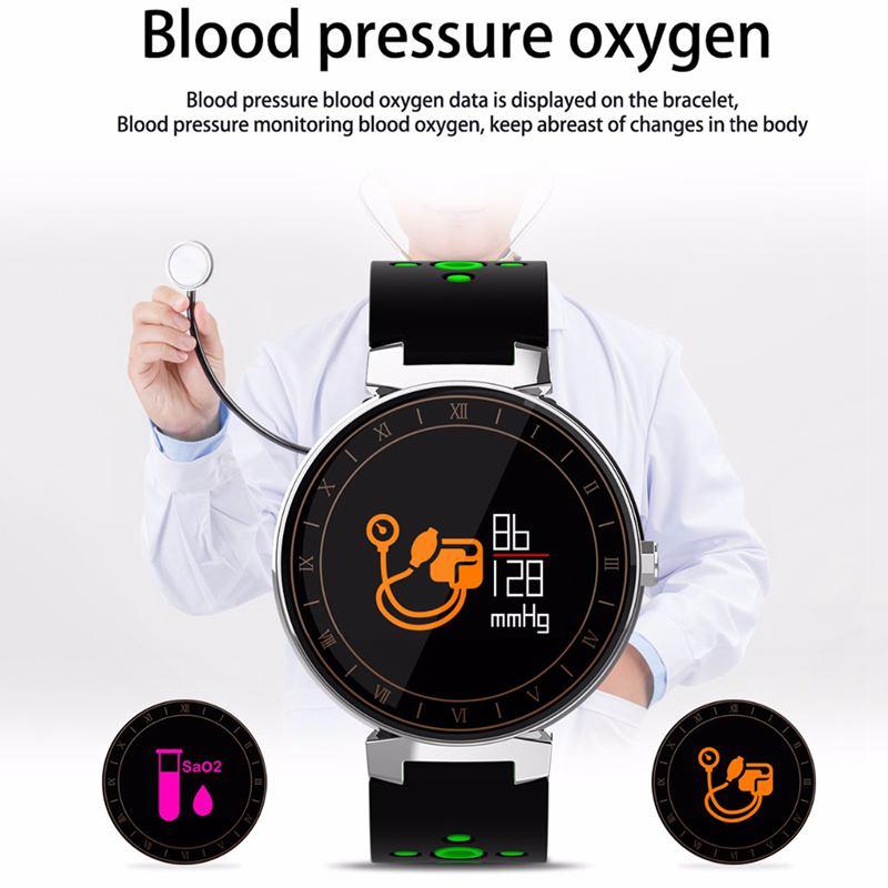 Banda-Inteligente-L8-Reloj-Rastreador-de-Ejercicios-de-Presion-Arterial-H1S2 miniatura 9
