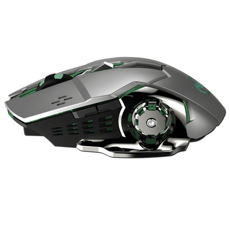 HXSJ-Nouvelle-souris-sans-fil-M70GY-2-4G-6D-coloree-sans-fil-rechargeable-Sou-38 miniature 9