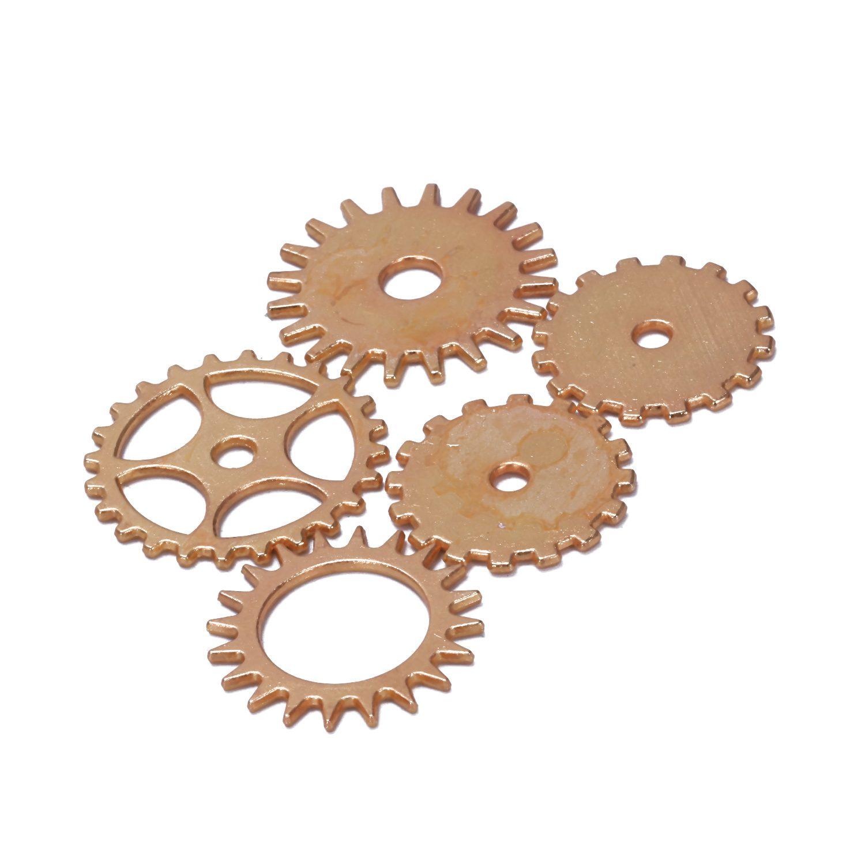 100g-Stueck-Uhrenteile-Steampunk-Zahnraeder-Gang-Sortierte-Uhr-Vintage-Schmu-M2O9 Indexbild 14