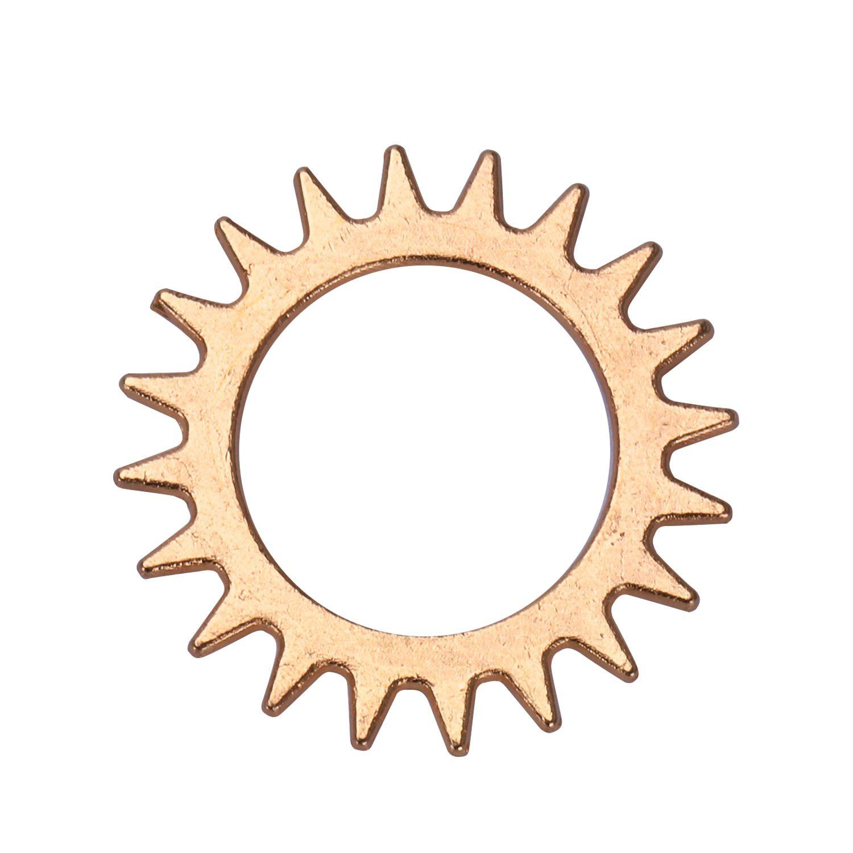 100g-Stueck-Uhrenteile-Steampunk-Zahnraeder-Gang-Sortierte-Uhr-Vintage-Schmu-M2O9 Indexbild 15