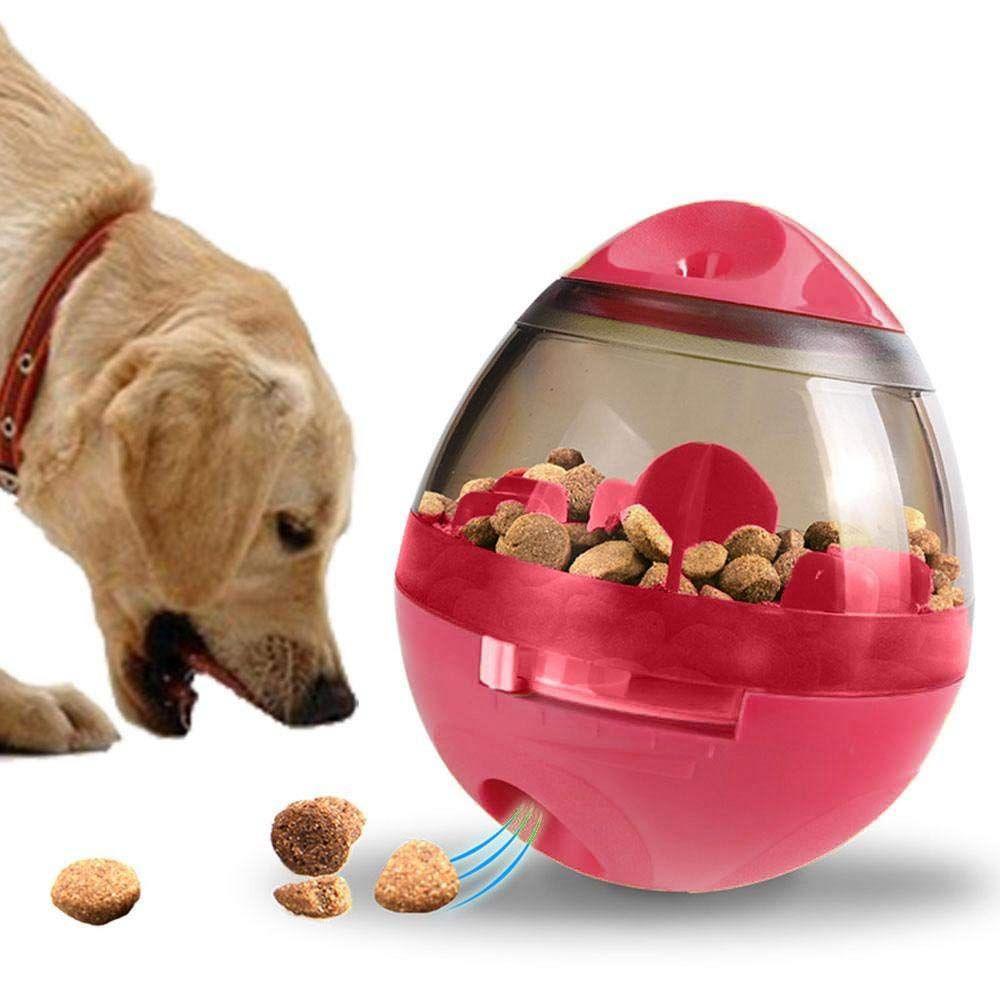 4X(Iq Treat Ball, Interaktive Interaktive Interaktive Lebensmittel Dispenser Hundespielzeug, Tumbler MS  | Optimaler Preis  cdd95a