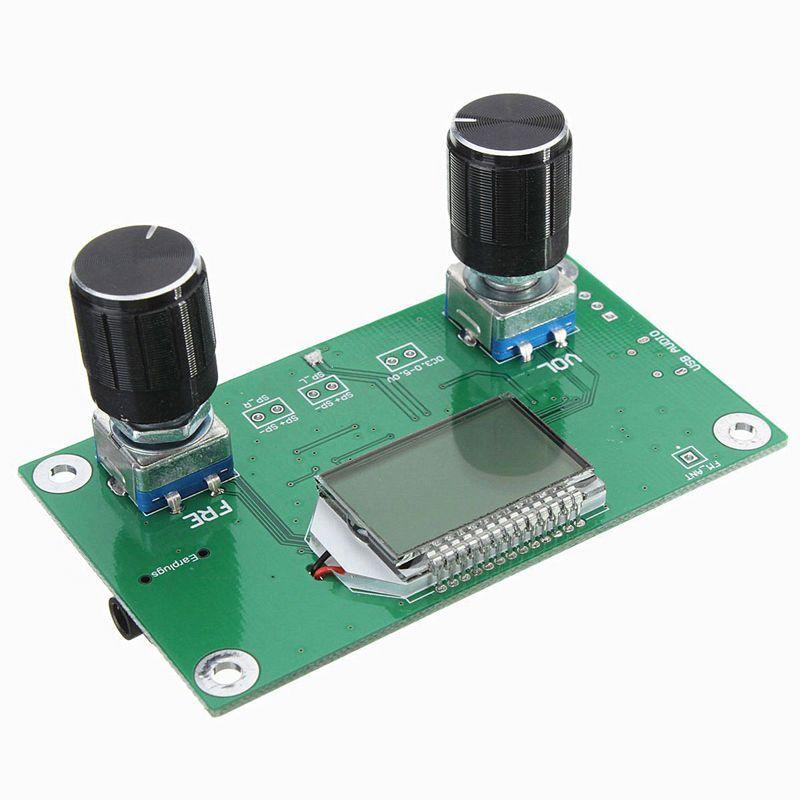 Digital-FM-87-108MHz-DSP-amp-PLL-LCD-Stereo-Radio-Receiver-Module-Serial-Cont-U2J4 thumbnail 5