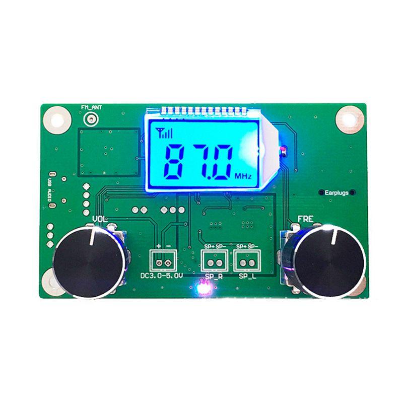 Digital-FM-87-108MHz-DSP-amp-PLL-LCD-Stereo-Radio-Receiver-Module-Serial-Cont-U2J4 thumbnail 6
