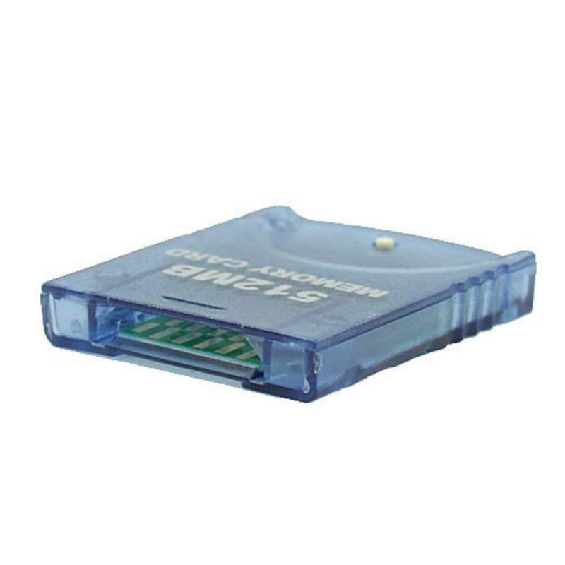 Carte-A-Memoire-Compatible-Pour-Systeme-De-Console-Nintendo-Wii-Gamecube-Gc-D5X8 miniature 3