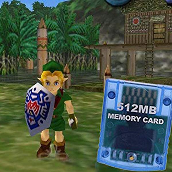 Carte-A-Memoire-Compatible-Pour-Systeme-De-Console-Nintendo-Wii-Gamecube-Gc-D5X8 miniature 6