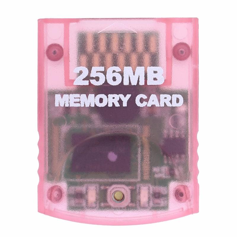Carte-A-Memoire-Compatible-Pour-Systeme-De-Console-Nintendo-Wii-Gamecube-Gc-D5X8 miniature 8
