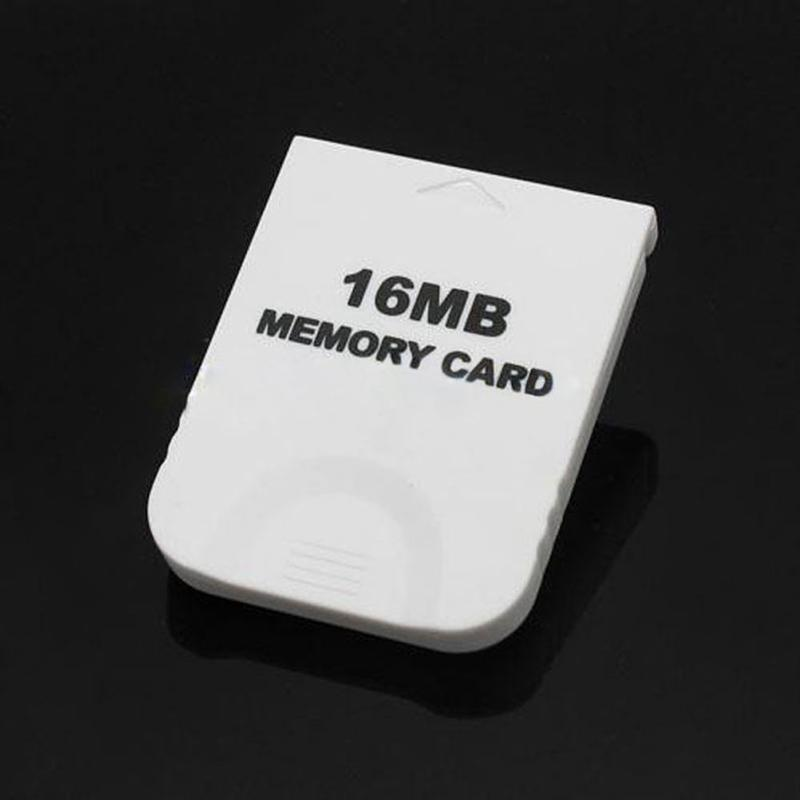 16MB-White-Memory-Card-compatible-for-Wii-amp-Gamecube-Console-A4B1 thumbnail 2