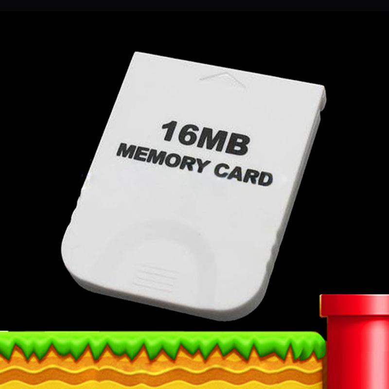 16MB-White-Memory-Card-compatible-for-Wii-amp-Gamecube-Console-A4B1 thumbnail 3