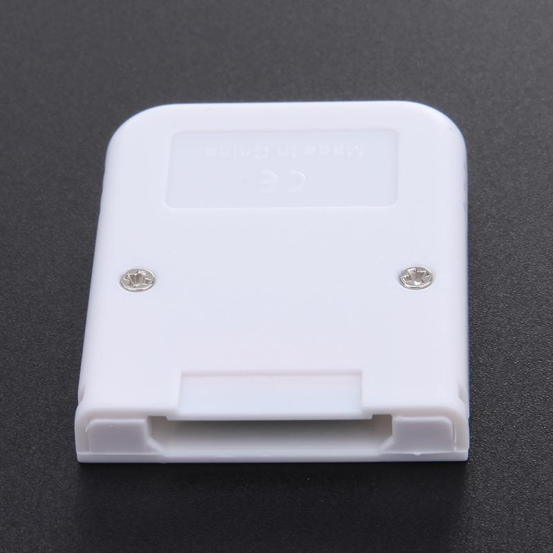 16MB-White-Memory-Card-compatible-for-Wii-amp-Gamecube-Console-A4B1 thumbnail 5