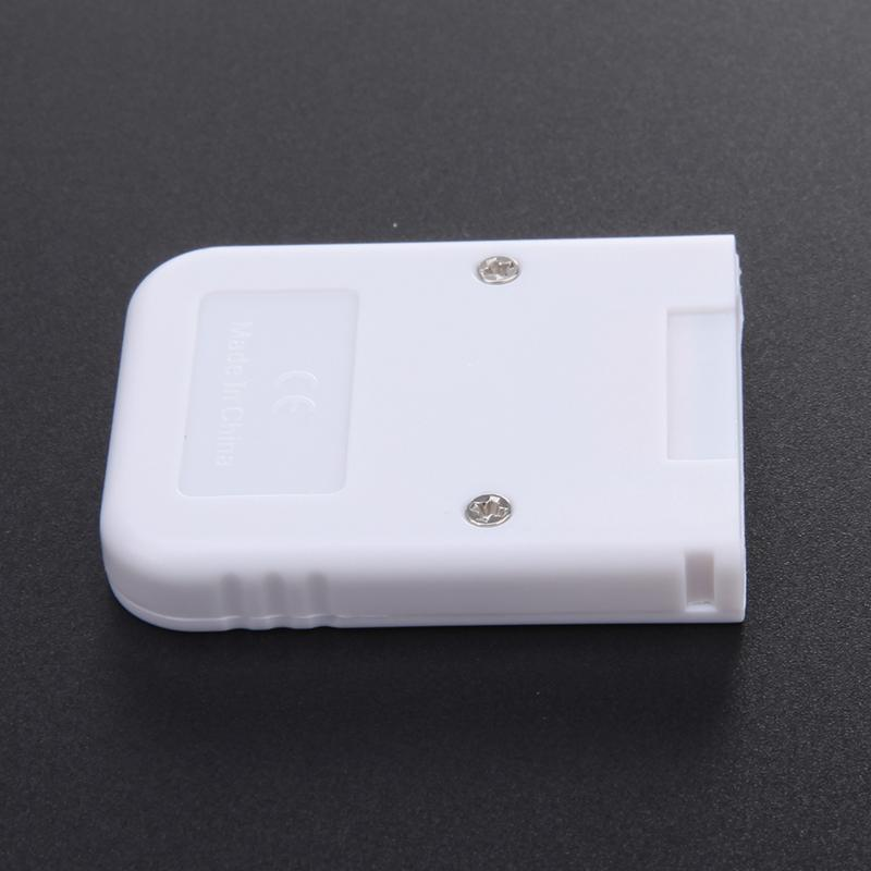 16MB-White-Memory-Card-compatible-for-Wii-amp-Gamecube-Console-A4B1 thumbnail 6