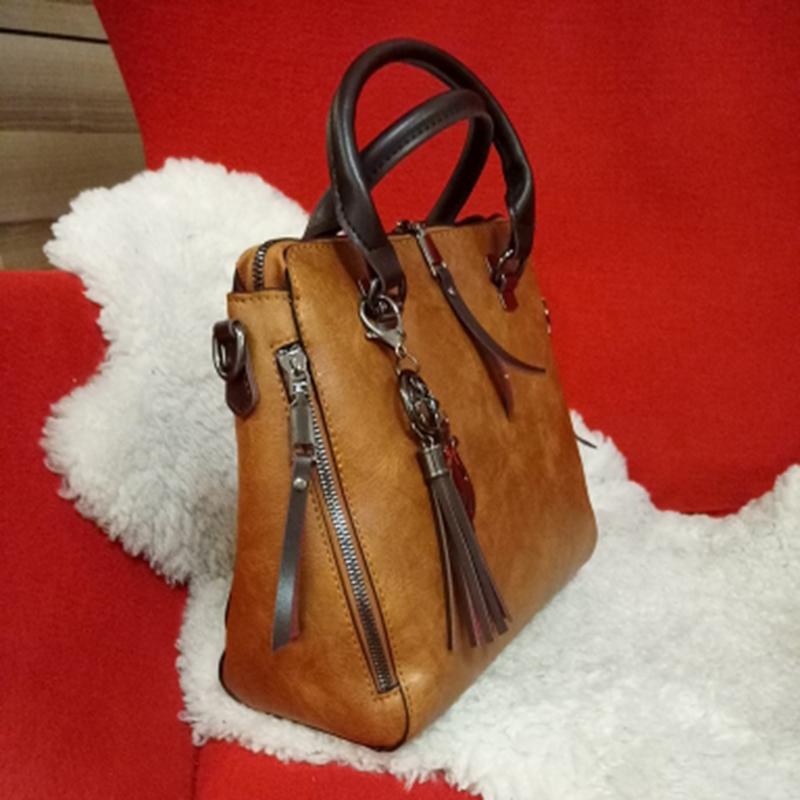 1X-Damen-Handtaschen-Hoch-Wertiger-Druck-Damen-Tasche-Damen-PU-Leder-Schult-R1A0 Indexbild 10