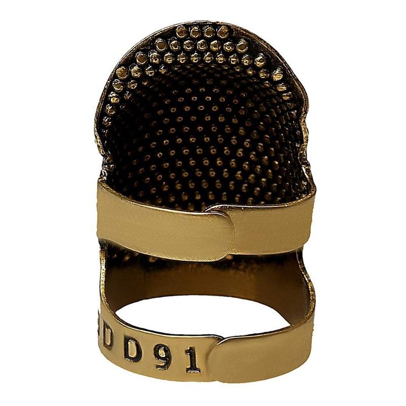 2X-Sewing-Thimbles-Retro-Sewing-Thimble-Finger-Protector-Shield-Protector-U6X4 thumbnail 4