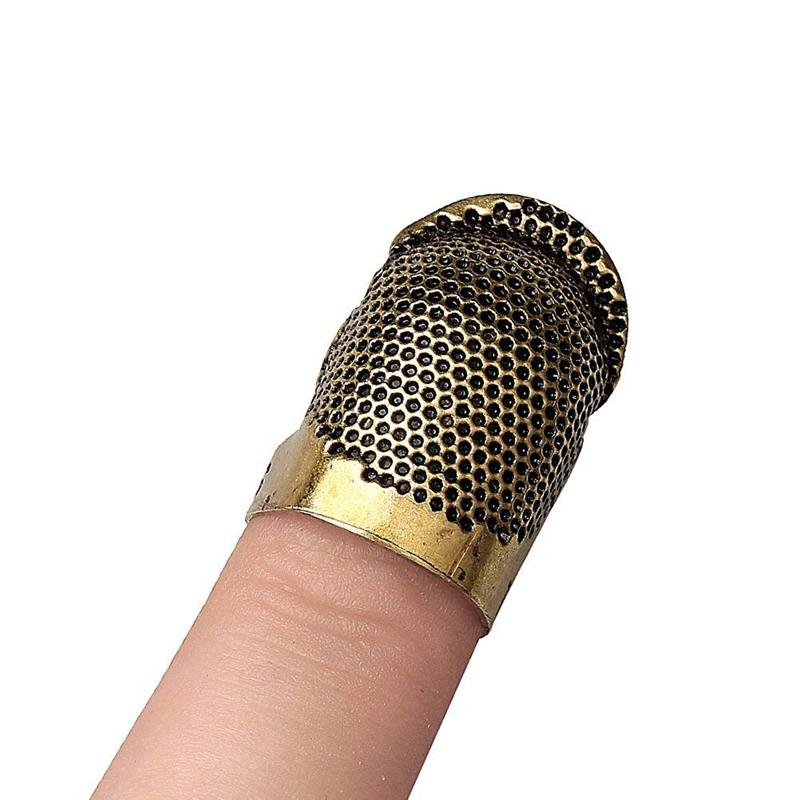 2X-Sewing-Thimbles-Retro-Sewing-Thimble-Finger-Protector-Shield-Protector-U6X4 thumbnail 5