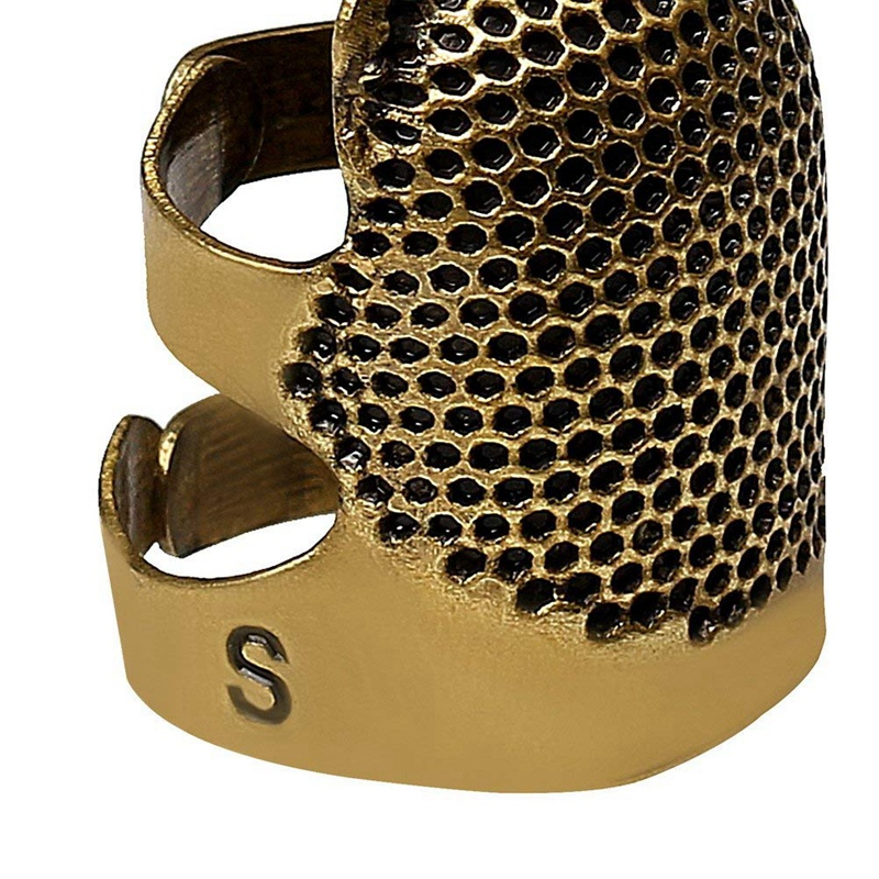 2X-Sewing-Thimbles-Retro-Sewing-Thimble-Finger-Protector-Shield-Protector-U6X4 thumbnail 6