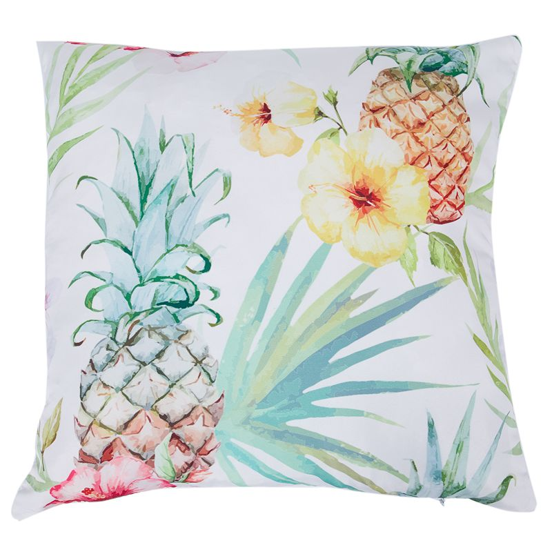 Beautiful Pineapple Cushion Pillow Cases Tropical Decorative Pillow Amazing Tropical Throw Pillow Covers