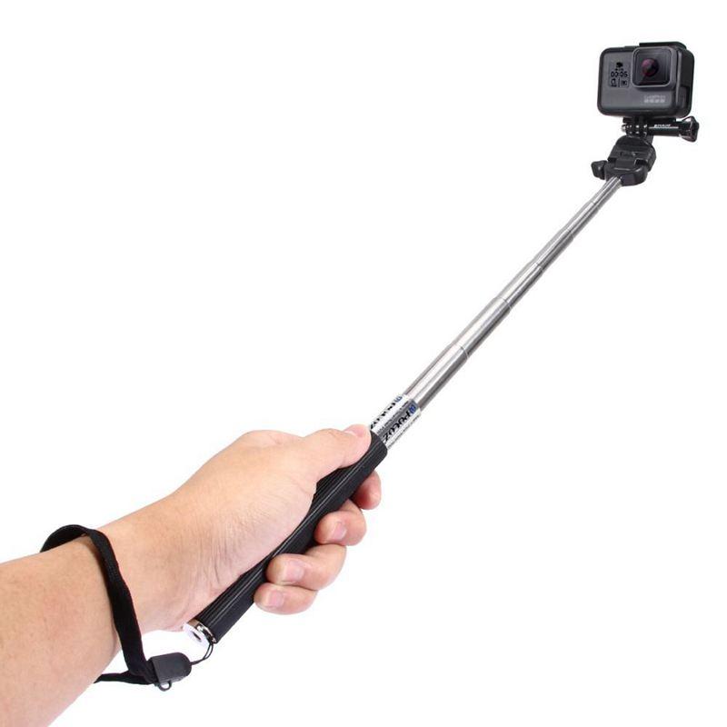 2019 Nouveau Style Puluz Pour Go Pro Accessoires Extensible Selfie Portable Stick Monopod Pour Z0j0