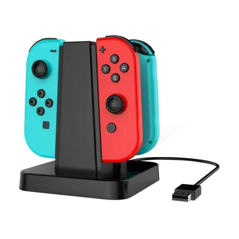 4-in-1-USB-Charger-Station-for-Nintendo-Switch-Joy-con-USB-Charging-Dock-w-M2E7 thumbnail 6