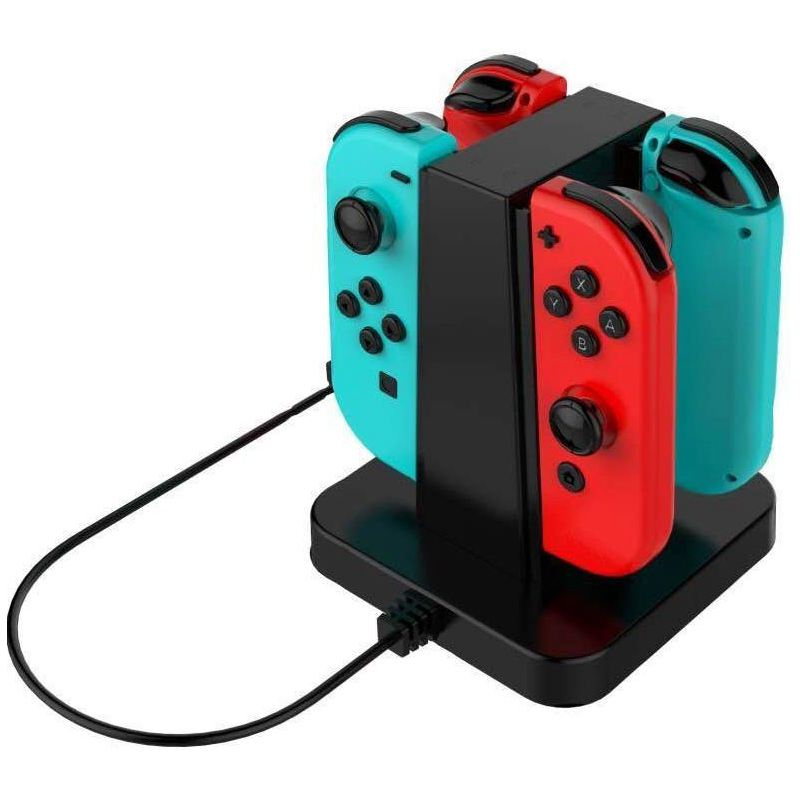4-in-1-USB-Charger-Station-for-Nintendo-Switch-Joy-con-USB-Charging-Dock-w-M2E7 thumbnail 7
