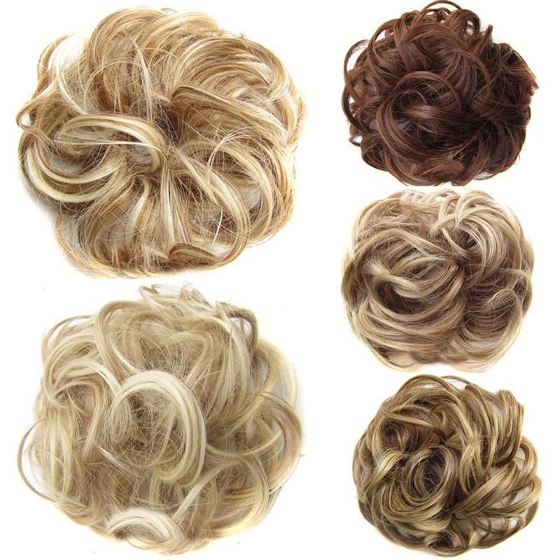 Postiches-De-Cheveux-Ruban-De-Cheveux-Extensions-De-Queue-De-Cheval-Extensi-U5K4 miniature 17