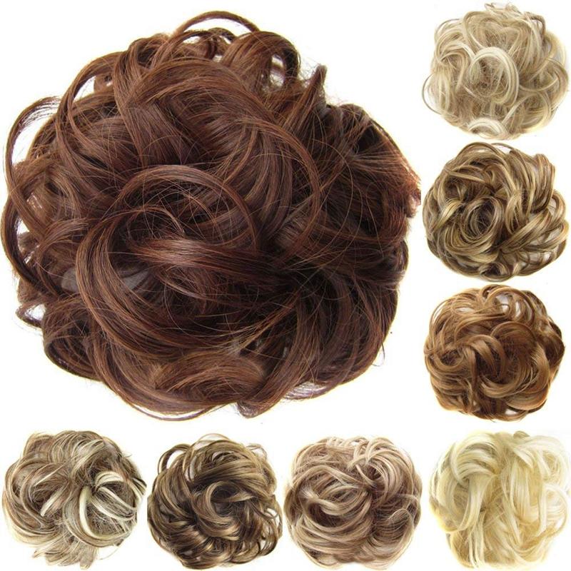 Postiches-De-Cheveux-Ruban-De-Cheveux-Extensions-De-Queue-De-Cheval-Extensi-U5K4 miniature 22