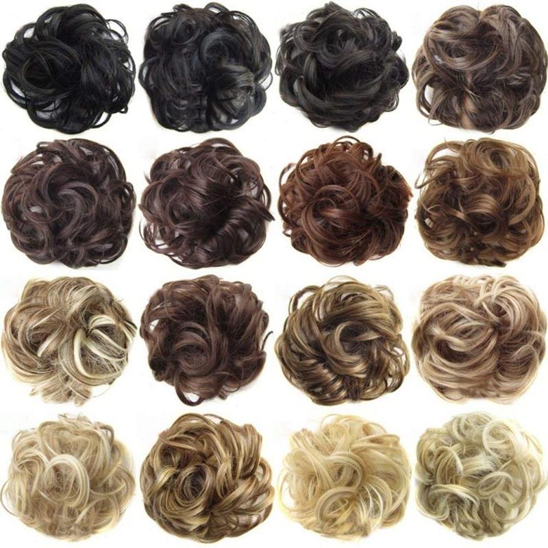Postiches-De-Cheveux-Ruban-De-Cheveux-Extensions-De-Queue-De-Cheval-Extensi-U5K4 miniature 24