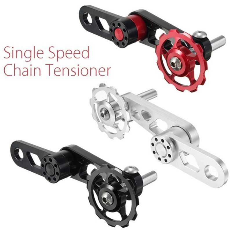 Advanced-Aluminum-MTB-Bike-Bicycle-Single-Speed-Converter-Chain-Tensioner-Li-2V9 thumbnail 5