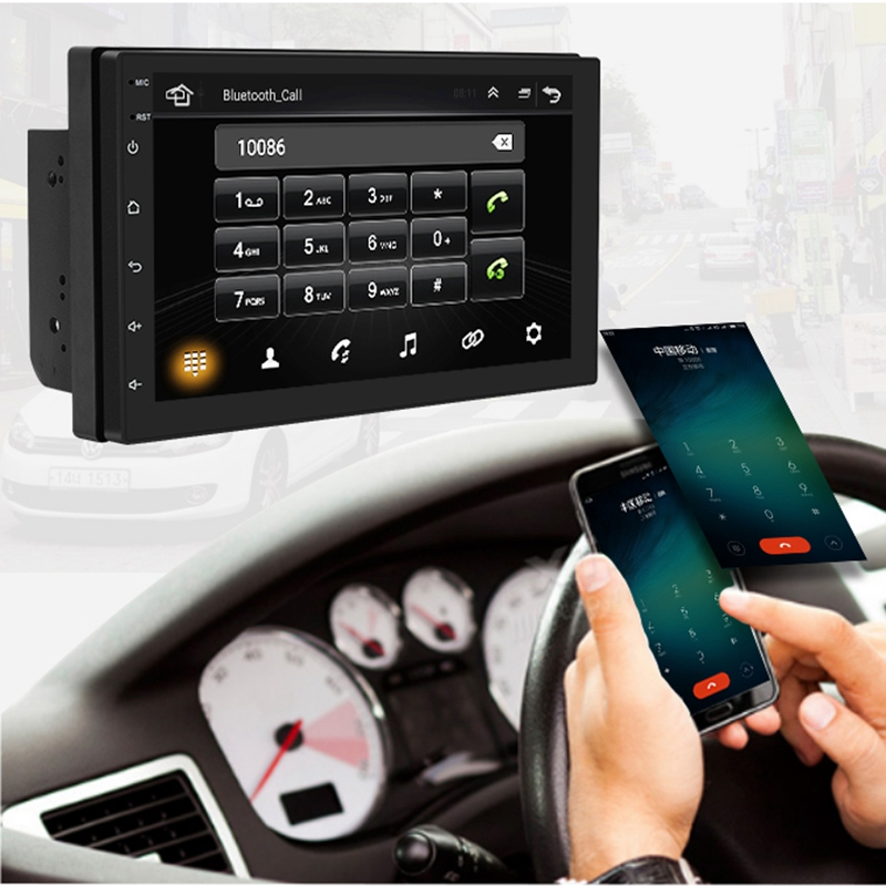 Details about 1X(7 inch Android8 1 2 Din Car DVD radio Multimedia Player  GPS navigation U Q0V7