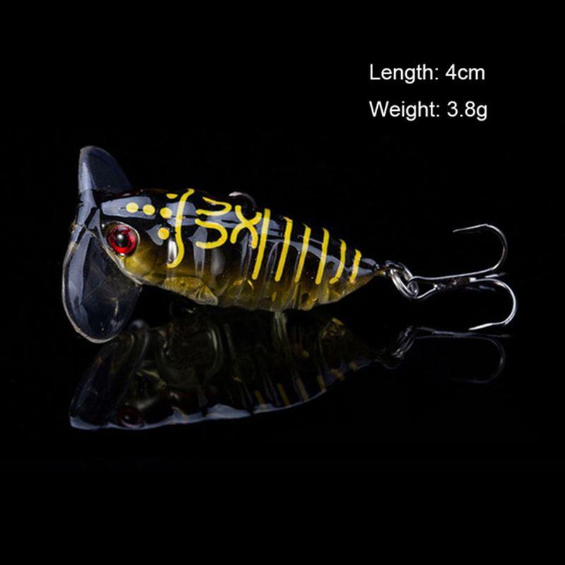 4XWinter Fischköder Eisfischen Jig Köder 5 ZP-7g Karpfen angelhaken Lead Lure ZP