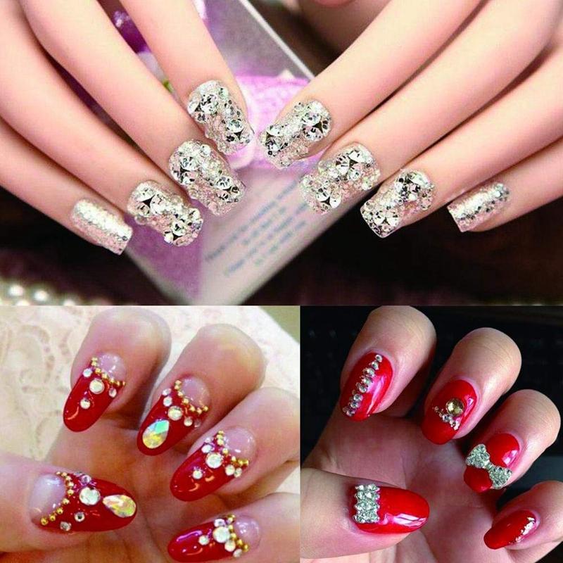 2X-Dotting-Pen-for-Nails-Dual-ended-Rhinestone-Studs-Picker-Wax-Pencil-Nail-G1D1 thumbnail 7