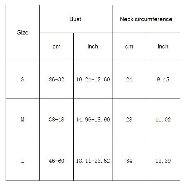1X-Animal-de-Compagnie-Gilet-de-Chien-Harnais-Respirant-Reglable-Gilet-Ave-V6Y3 miniature 7