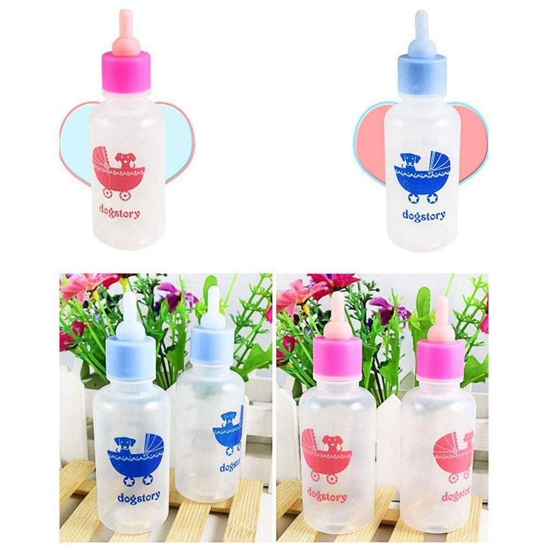 Pet-Nurser-Nursing-Feeding-Silicone-Bottle-Kits-with-Replacement-Nipples-Mi-Z1U6 thumbnail 16