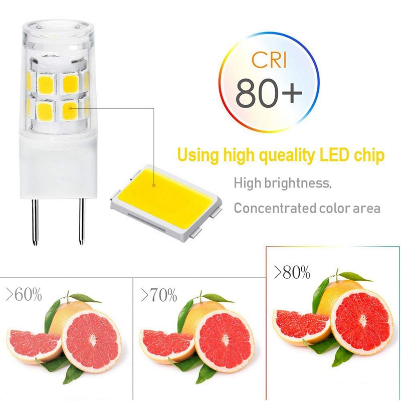 1X-Led-G8-Lumiere-Ampoule-G8-Gy8-6-Culot-A-Deux-Broches-Led-Non-Dimmable-L1A4 miniature 5