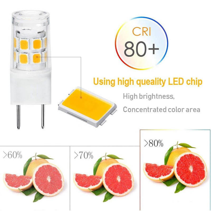 1X-Led-G8-Lumiere-Ampoule-G8-Gy8-6-Culot-A-Deux-Broches-Led-Non-Dimmable-L1A4 miniature 11