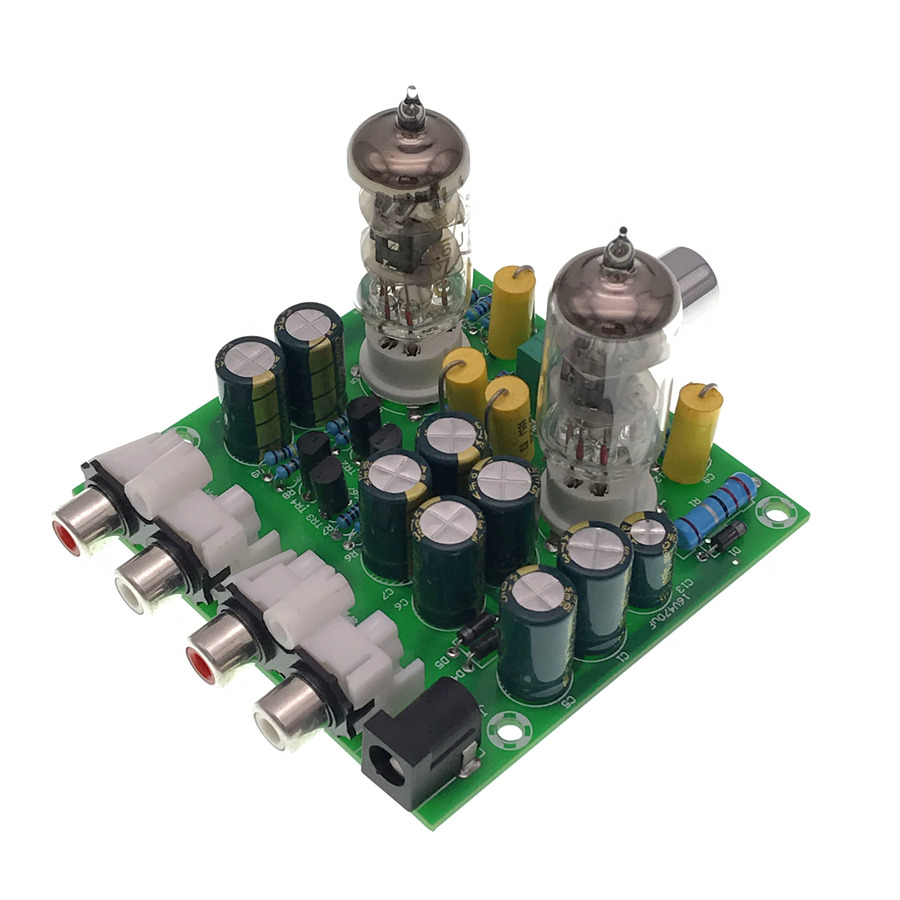 5xnewest 6j1 Tube Preamp Amplifier Board Pre Amp Headphone Circuit Design Channle 20 Stereo Potentiometer Role Volume Adjustment Power Switch Fe 2 Fever Is The Schematic Imitation Crew