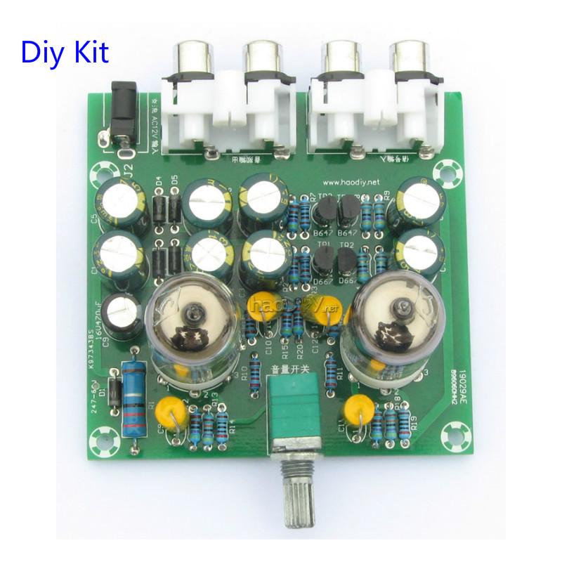 Dettagli su Piu' nuovo 6J1 preamplificatore amplificatore per Cuffie amp 6J1 valvolare A5O9