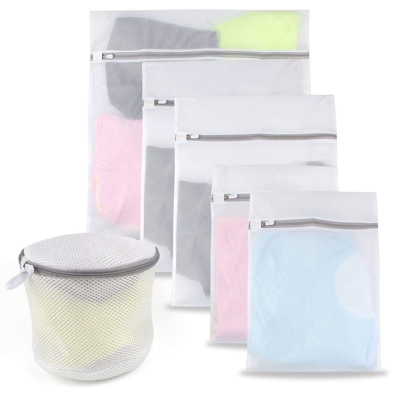 Image Is Loading Mesh Laundry Bags 6 Pack Premium Washing