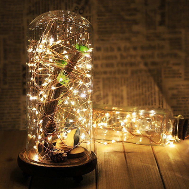 USB-10M-8-Modes-100-LED-String-Light-Christmas-Waterproof-Copper-Wire-LED-S-Y5H5 thumbnail 3