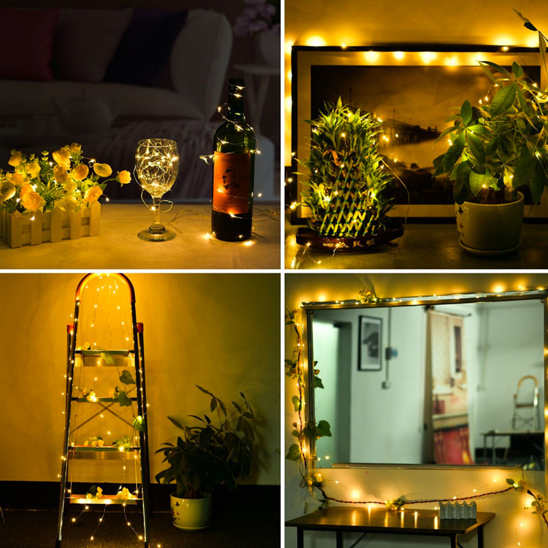 USB-10M-8-Modes-100-LED-String-Light-Christmas-Waterproof-Copper-Wire-LED-S-Y5H5 thumbnail 5