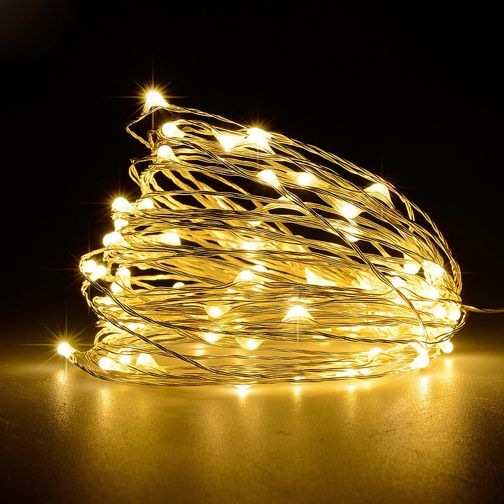 USB-10M-8-Modes-100-LED-String-Light-Christmas-Waterproof-Copper-Wire-LED-S-Y5H5 thumbnail 7