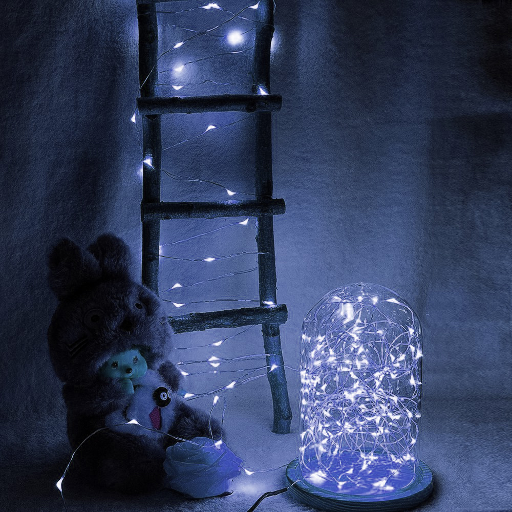USB-10M-8-Modes-100-LED-String-Light-Christmas-Waterproof-Copper-Wire-LED-S-Y5H5 thumbnail 11