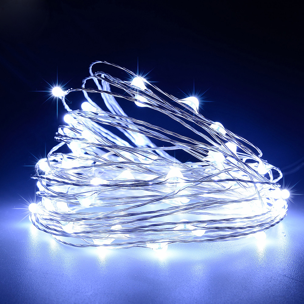 USB-10M-8-Modes-100-LED-String-Light-Christmas-Waterproof-Copper-Wire-LED-S-Y5H5 thumbnail 12