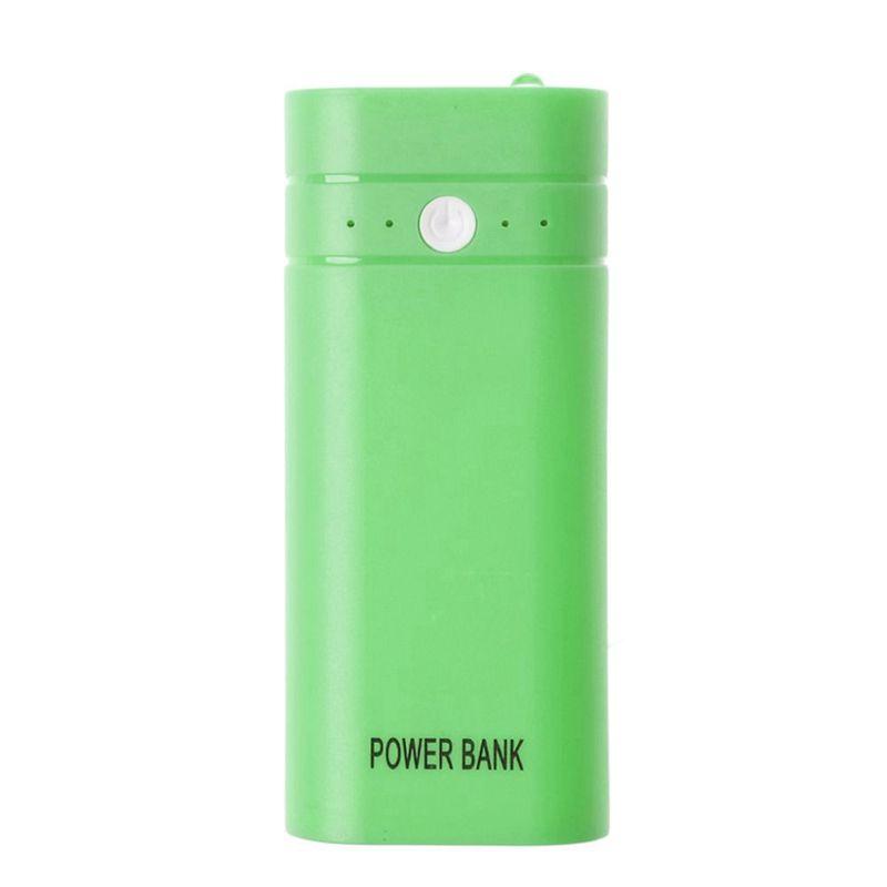 miniature 14 - 1x-5600-mAh-Mini-USB-Port-2x-18650-Chargeur-Support-energies-Banque-Box-b8n8