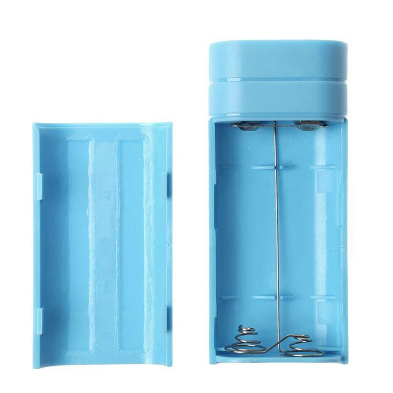 miniature 27 - 1x-5600-mAh-Mini-USB-Port-2x-18650-Chargeur-Support-energies-Banque-Box-b8n8