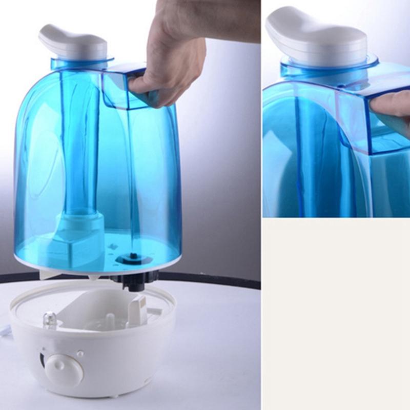 6X(4L Ultraschall Luftbefeuchter Mini Aroma Aroma Aroma Luftbefeuchter Luftreiniger Mit L E7 184fab