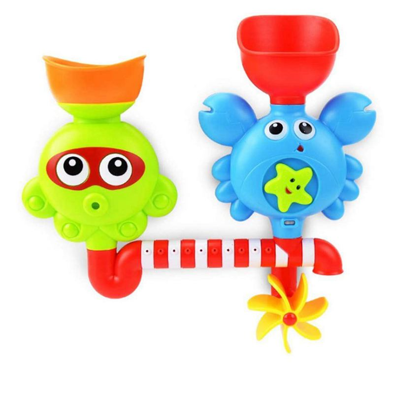 Develop Your Powers Of Visual Thinking >> senleer Bath Toy Waterfall Water Station-Bathtub Suction Cups Toys Children 1 M7 193571076205 | eBay