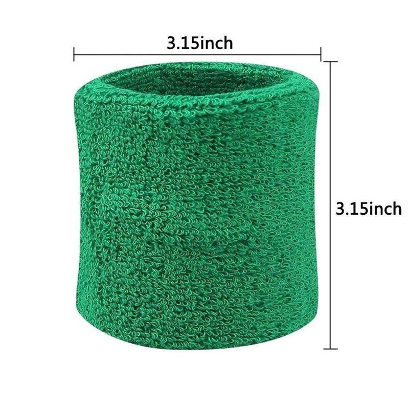 Paquet-de-6-Bracelet-Absorbant-A-La-Sueur-pour-Femme-et-Homme-Bracelet-de-S-M8O7 miniature 16